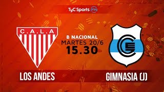 Los Andes vs Gimnasia J full match