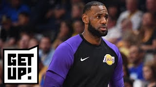 Will reducing LeBron James' minutes help the Lakers in the long run? | Get Up!