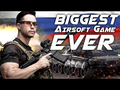Biggest Airsoft Game Ever - Armored War VIII in Russia - RedWolf Airsoft RWTV