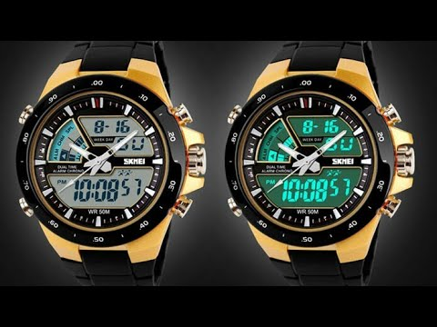 Skmei Analouge-Digital watch 1016 Review in Tamil(with English Subtitle)