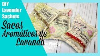 Lavender Sachets-Sacos aromáticos de lavanda
