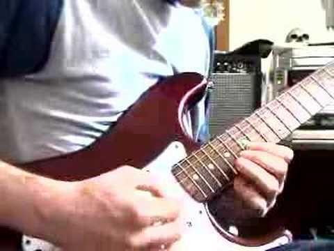 YJM Dimarzio v Mexican Fender  ~Baroque~