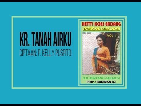 Kr. TANAH AIRKU - Hetty Koes Endang (Album Lagu Kroncong Asli Vol 1)