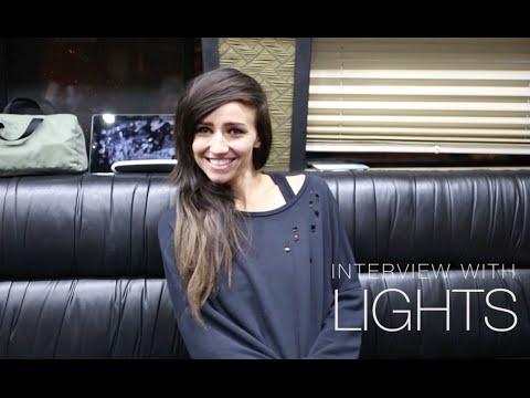 LIGHTS - Interview with EllenwoodTV