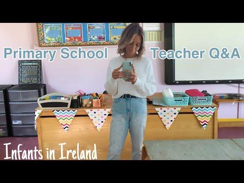 Primary School Teacher Q&A // infants in Ireland