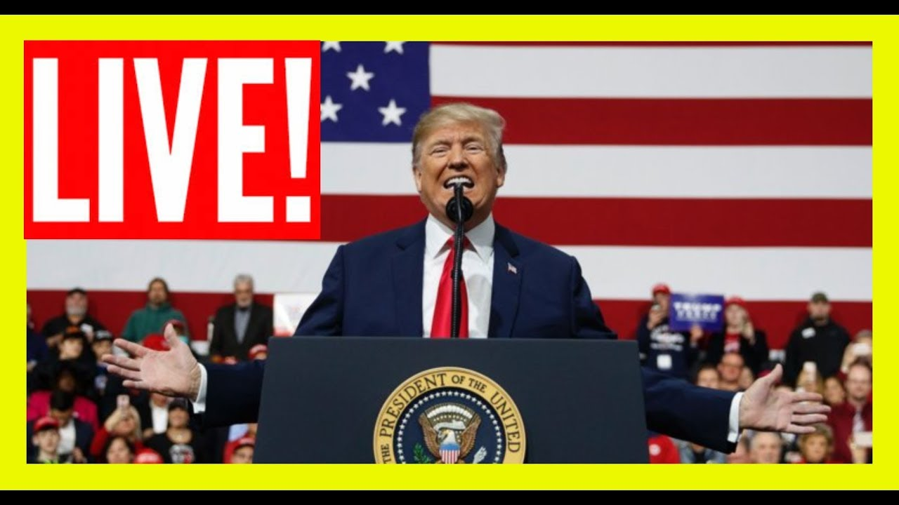 GST LIVE: President Trump URGENT Speech at the American Veterans 75th National Convention