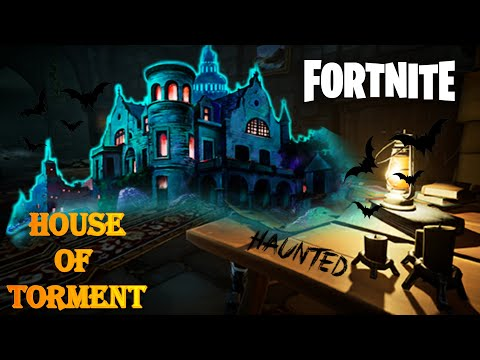 The Haunted House Of Torment | Fortnite Creative Horror Map