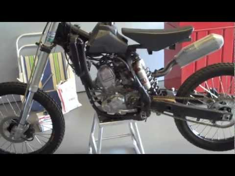 Homemade dirt bike 3 youtube for What is dirt made out of