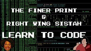 Learn To Code (Satire/Parody) Feat. Right Wing Sistah