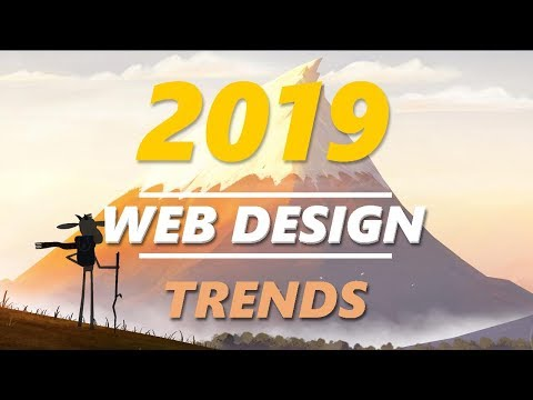 Top Web Design Trends 2019 - YouTube