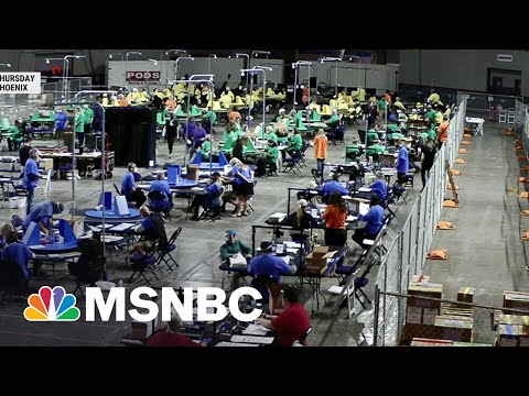 Red Flags Raised Over GOP Audit Of Arizona 2020 Ballots   MSNBC