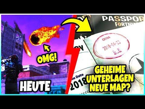 NEUE MAP in CHINA? 😱 MYSTERIÖSES Bild AUFGETAUCHT! 🔍 COMET EINSCHLAG! - Fortnite Battle Royale