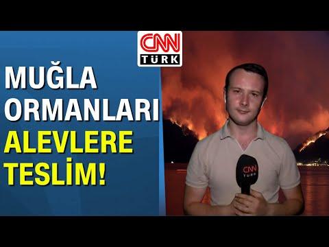Orman yangınları sabotaj mı? CNN Türk muhabiri Tugay Saday yangın bölgesinden anbean aktardı!
