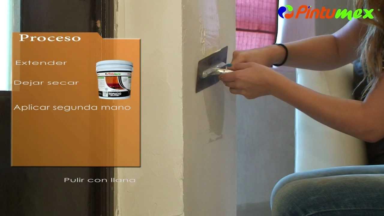 Pinta tu comedor con topacio de pintumex dale un acabado for Pintura para interiores precios