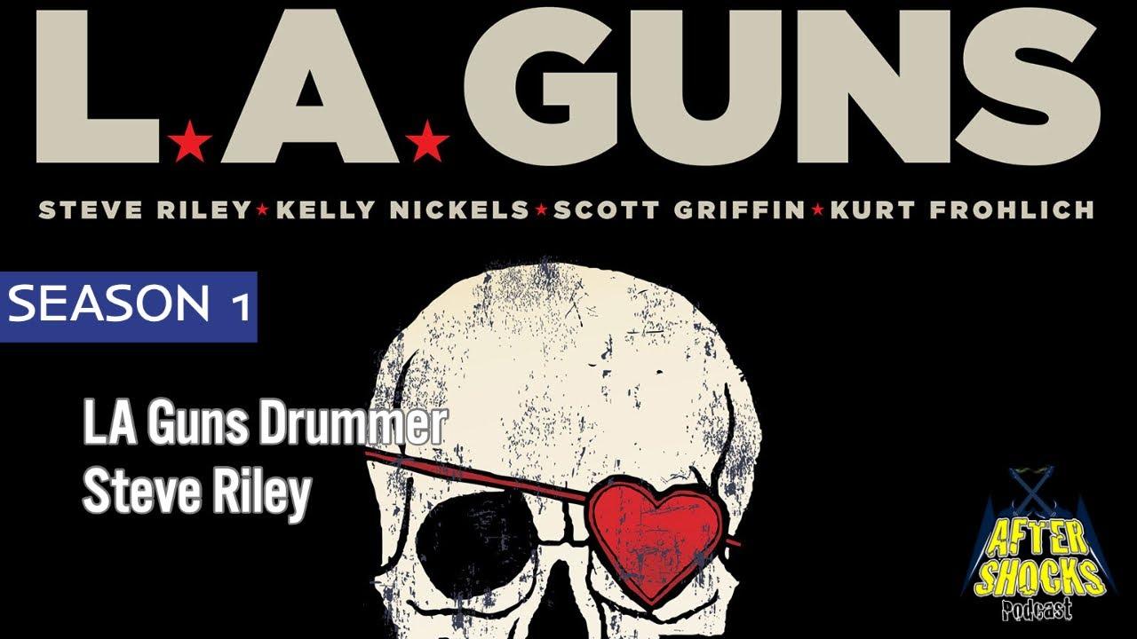 LA Guns - RENEGADES - The Aftershocks Interview with Drummer Steve Riley
