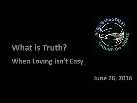 6 26 2016   When Loving isn't Easy
