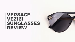 c46901a05000 Versace VE2161 Sunglasses Review | VisionDirect ...