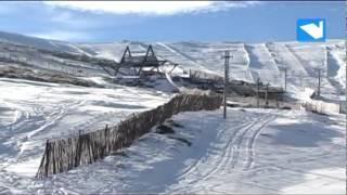 Todo listo para el Campeonato de Esquí Alpino