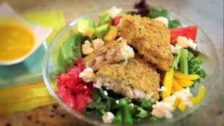 Inspired By The World: Key West -- Summer Herb Crusted Cod Salad With Key Lime Dressing