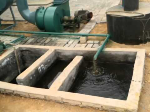 Waste Tyre recycling pyrolysis to oil machine