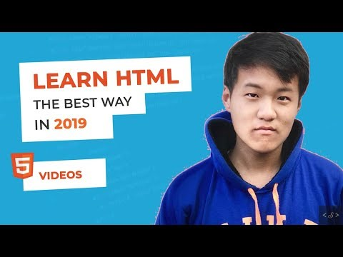 HTML Video : HTML tutorial for beginners (2019) thumbnail