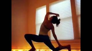 homestudio improv dance yoga flow