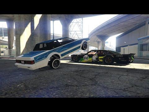 GTA5 Online: Hoonigan's GYMKHANA 7 Remake By Drfit Tampa[Hoonicorn]