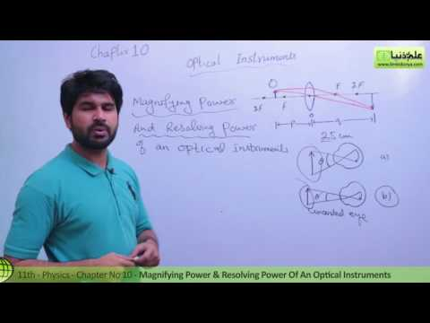 Magnifying & Resolving Power Optical Instrument - Ch 10 Optical Instruments - Part 1 Pre Medical