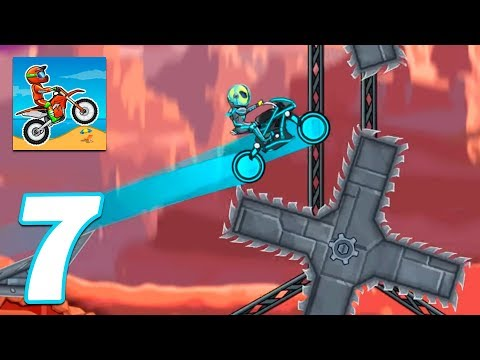 Moto X3M Bike Race Game Levels 68-74 - Gameplay Android & IOS Game - Moto X3m