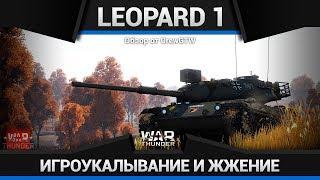 Leopard 1 В СЕМЬЕ НЕ БЕЗ УРОДА ПО УРОНУ в War Thunder