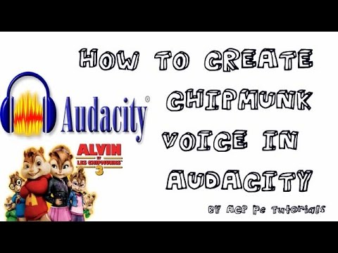 audacity tutorial how to make a chipmunk voice voice effects youtube. Black Bedroom Furniture Sets. Home Design Ideas