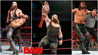 BRAUN STROWMAN ATTACKS AND CHALLENGES SETH ROLLINS ? WWE Raw 19 August 2019 Highlights !
