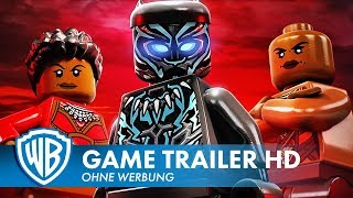LEGO Marvel Super Heroes 2 - Black Panther Trailer Deutsch HD German (2018)