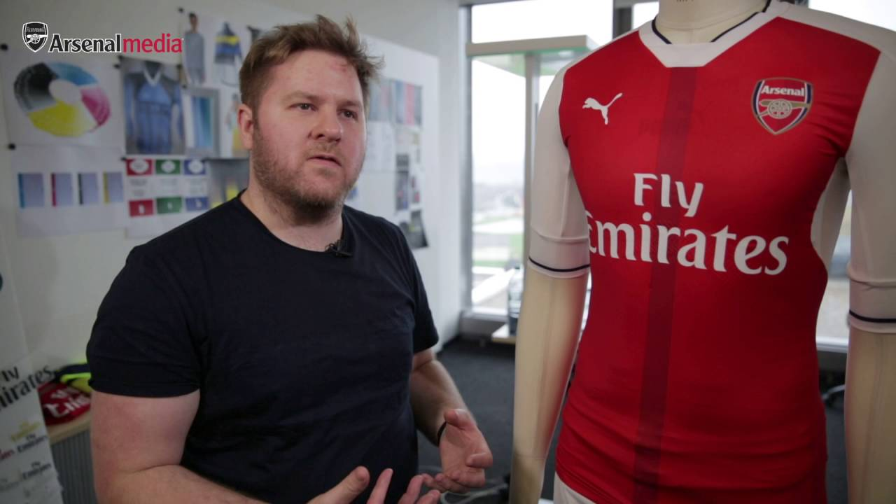 The Story Behind Arsenals New Home Shirt