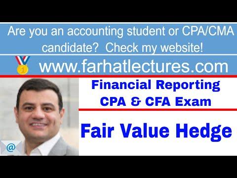Fair value hedge ch 11 p 7 CPA exam
