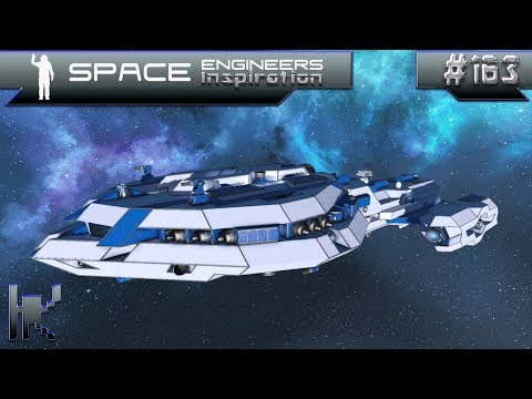 Space Engineers Inspiration - Episode 163: Protectorate Fang, AX-16 Expedition, Tyrant Mk. I