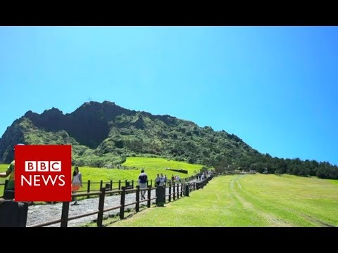 Yemenis flee to Korean holiday island - BBC News