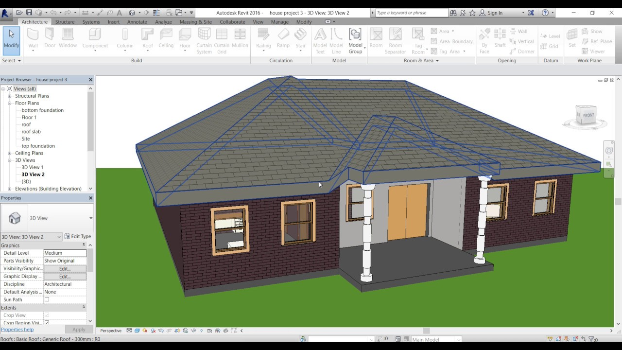 Revit Round Wall Tutorial And How To Modifying Profile You