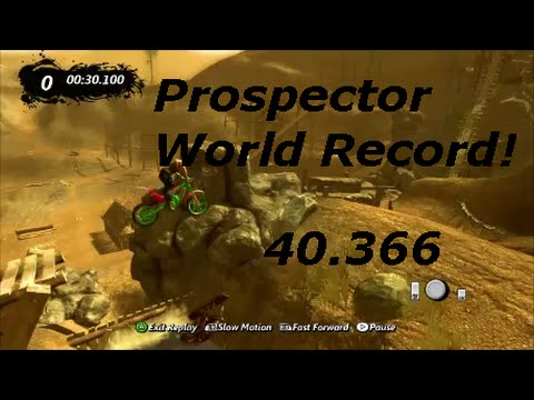 Trials Evolution - Prospector - World Record (40.366)