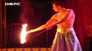 Feuerschlucker-Circus California