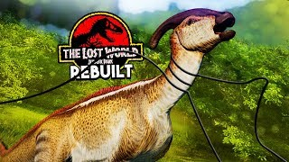 THE DINOSAUR GAME TRAIL!   The Lost World: Jurassic Park Rebuilt (Jurassic World: Evolution)