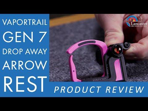 VaporTrail Gen 7 Drop Away Arrow Rest Review | LancasterArchery com