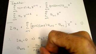Series solution of ode: Airys equation YouTube Videos