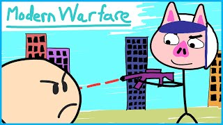Modern Warfare moments that are dumber than this thumbnail...