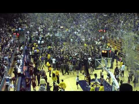 Cal basketball clinches first Pac-10 title in 50 years