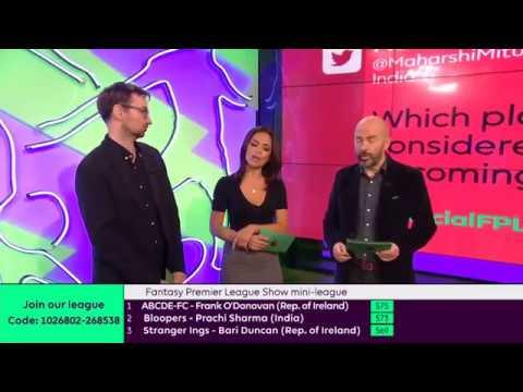 Fantasy Premier League Show - FPL Show Ep 12, Pt 2 (28102016)