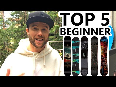 TOP 5 BEGINNER SNOWBOARDS
