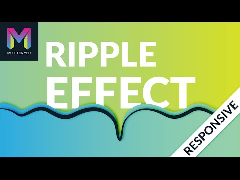 Ripple Effect Widget   Adobe Muse CC   Muse For You