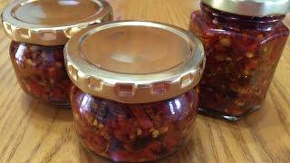 料理影片#10:純天然香辣好吃的萬用辣椒醬