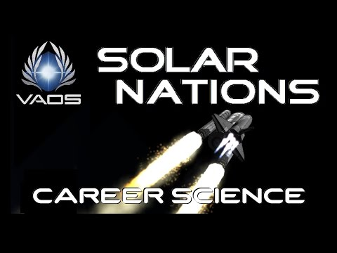 KSP V-1.04 - VID#110 - SOLAR NATIONS 1 - No Story